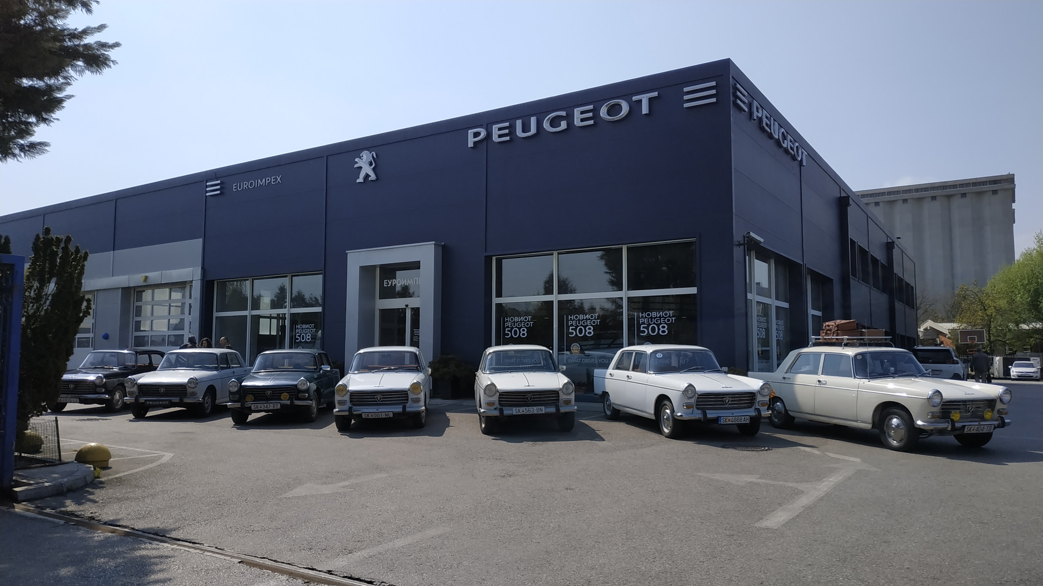 """Back to the history """"DAY OF PEUGEOT 404"""""""